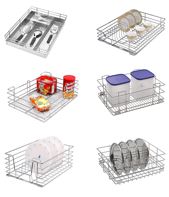 Kitchen Basket Buy Kraft Italy Stainless Steel Cutlery Basket Online At Low
