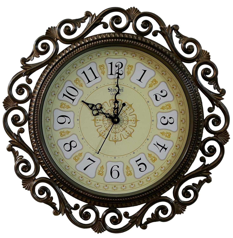 Cartoonpur Analog Round 11 Inch Hexagonal Myth Wall Clock