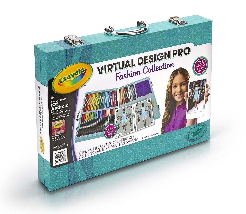 Crayola Virtual Design Pro Fashion Set New Free