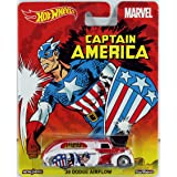 Hot Wheels MARVEL CAPTAIN AMERICA '38 DODGE AIRFLOW REAL RIDERS