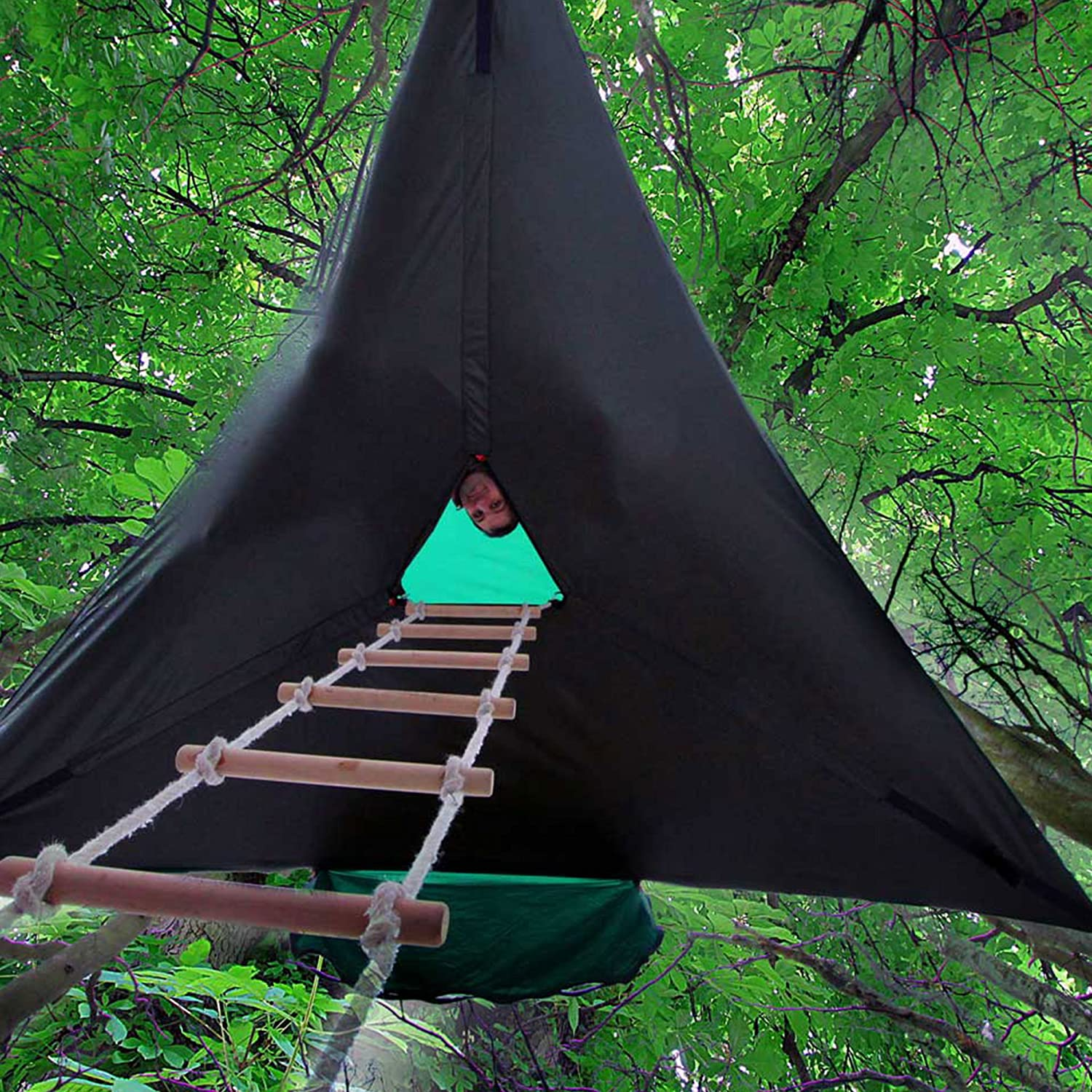 Good news everyone. Your wildest c&ing dreams are coming true. Someone has finally invented a treehouse tent. & Portable Treehouse Tent | Misadventures