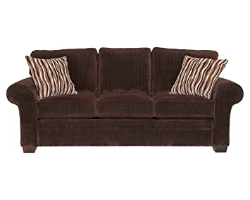 Broyhill Zachary Sofa, Brown, Chocolate
