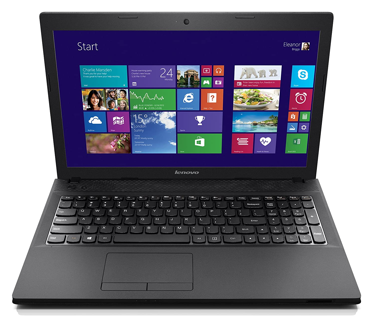 Lenovo IdeaPad G510 59406740 15.6-Inch Laptop Black