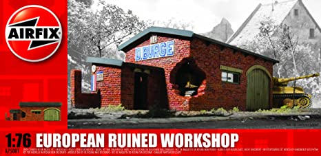 Airfix - A75001 - Maquette - European Ruined Workshop - Echelle 1:76