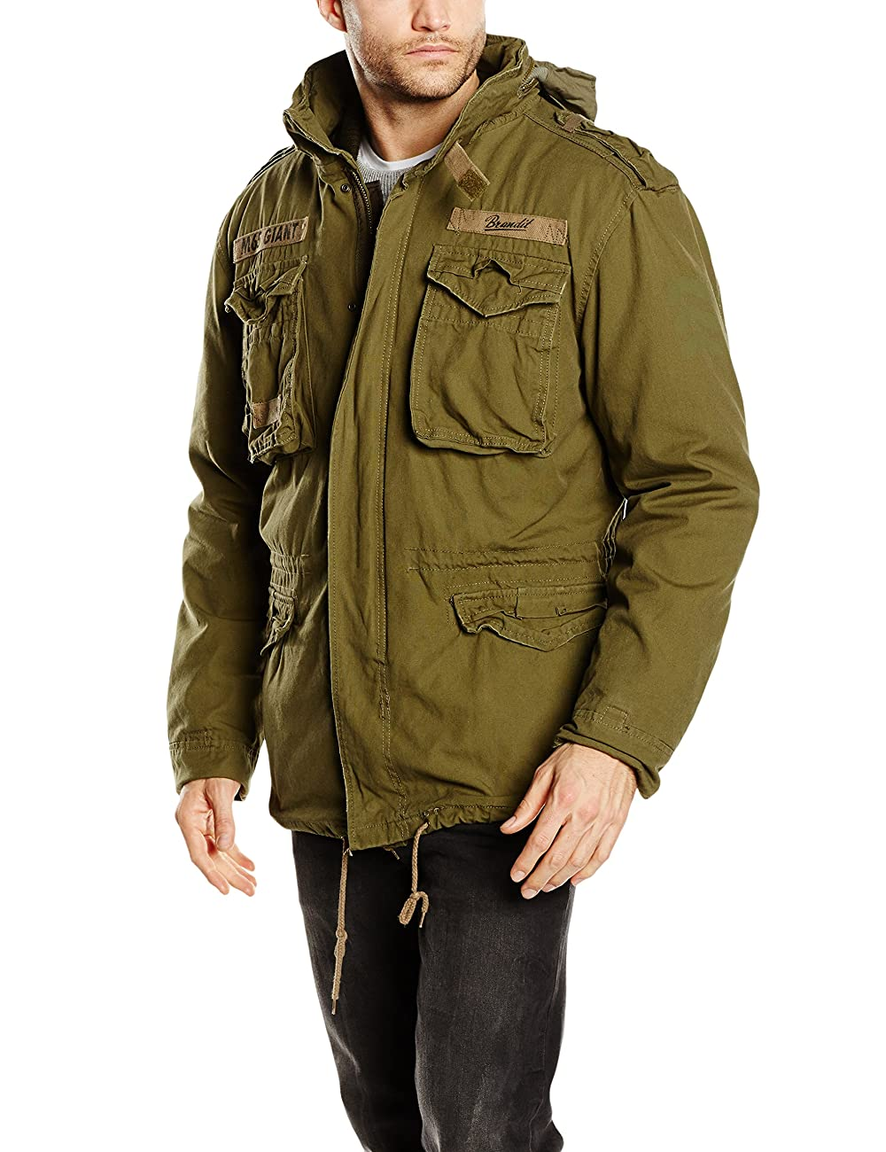 Brandit Men's M-65 Giant Jacket Olive 0