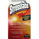 Stresstabs Anti Stress Energy Tablet 90 Tablets (Tamaño: 75+15)