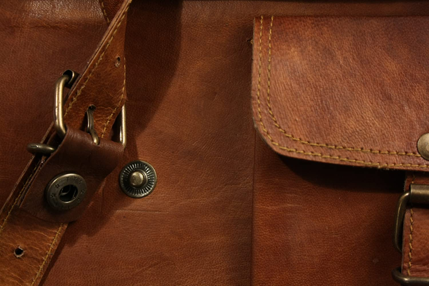 Leather Messenger Bag for Men 2016
