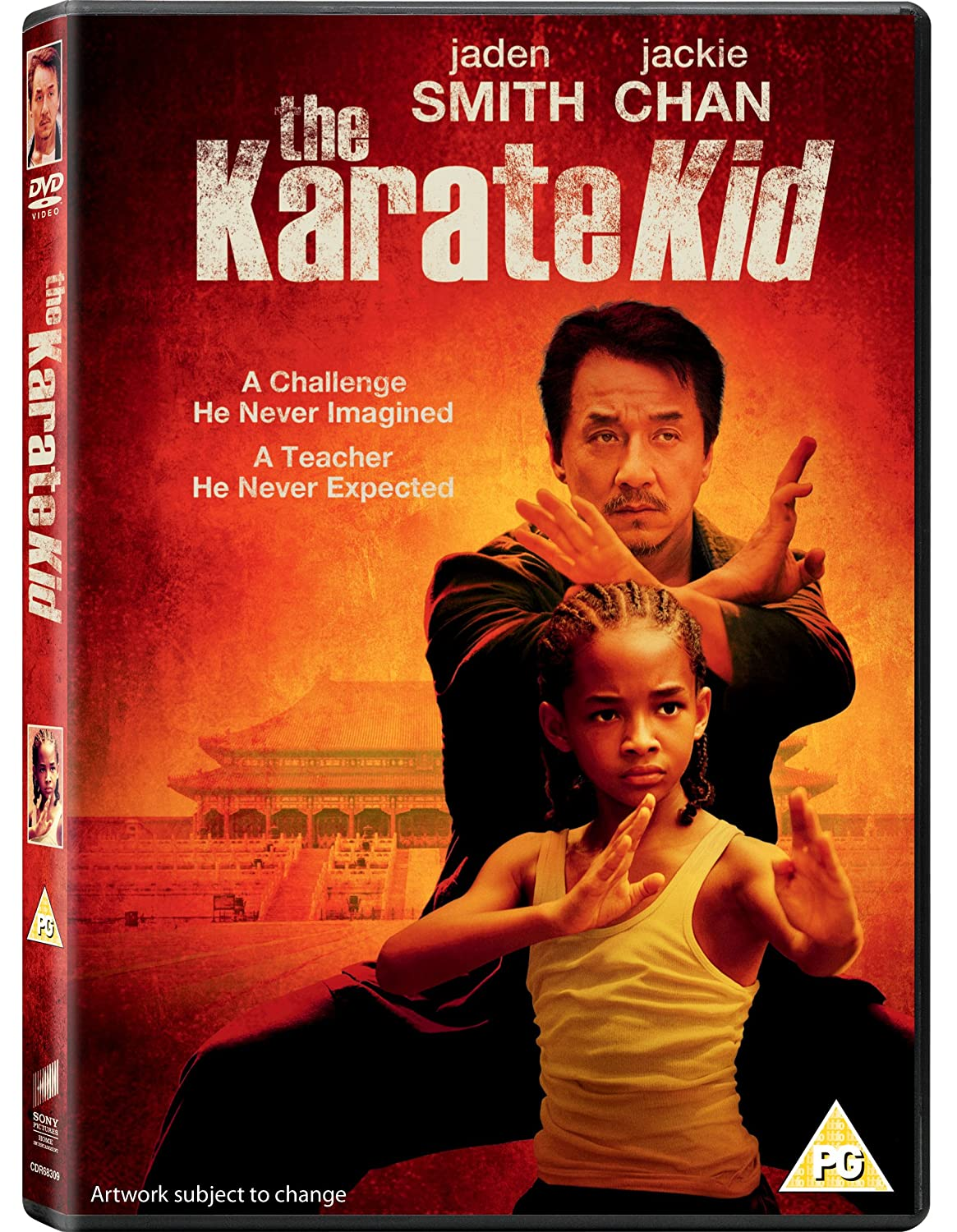 DVD The Karate Kid [2010] [DVD] Jaden Smith / Jackie Chan ...