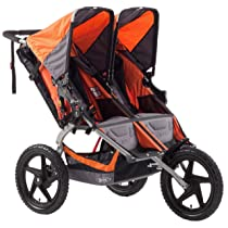 BOB Sport Utility Duallie Stroller Orange