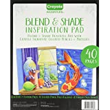Crayola Blend & Shade Inspiration Pad Art