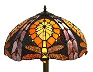 Autumn Dragonfly Tiffany Floor Lamp       reviews and more information