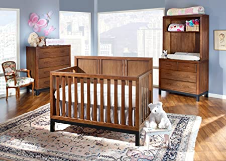 Westwood Design Park West Convertible Crib, Walnut