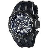 Invicta Men's 0979 Bolt Analog Display Swiss Quartz Black Watch