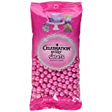 Celebrations By Sweetworks Sixlets(R) 14oz, Shimmer (TM) Bright Pink (Color: Bright Pink, Tamaño: 14 oz)