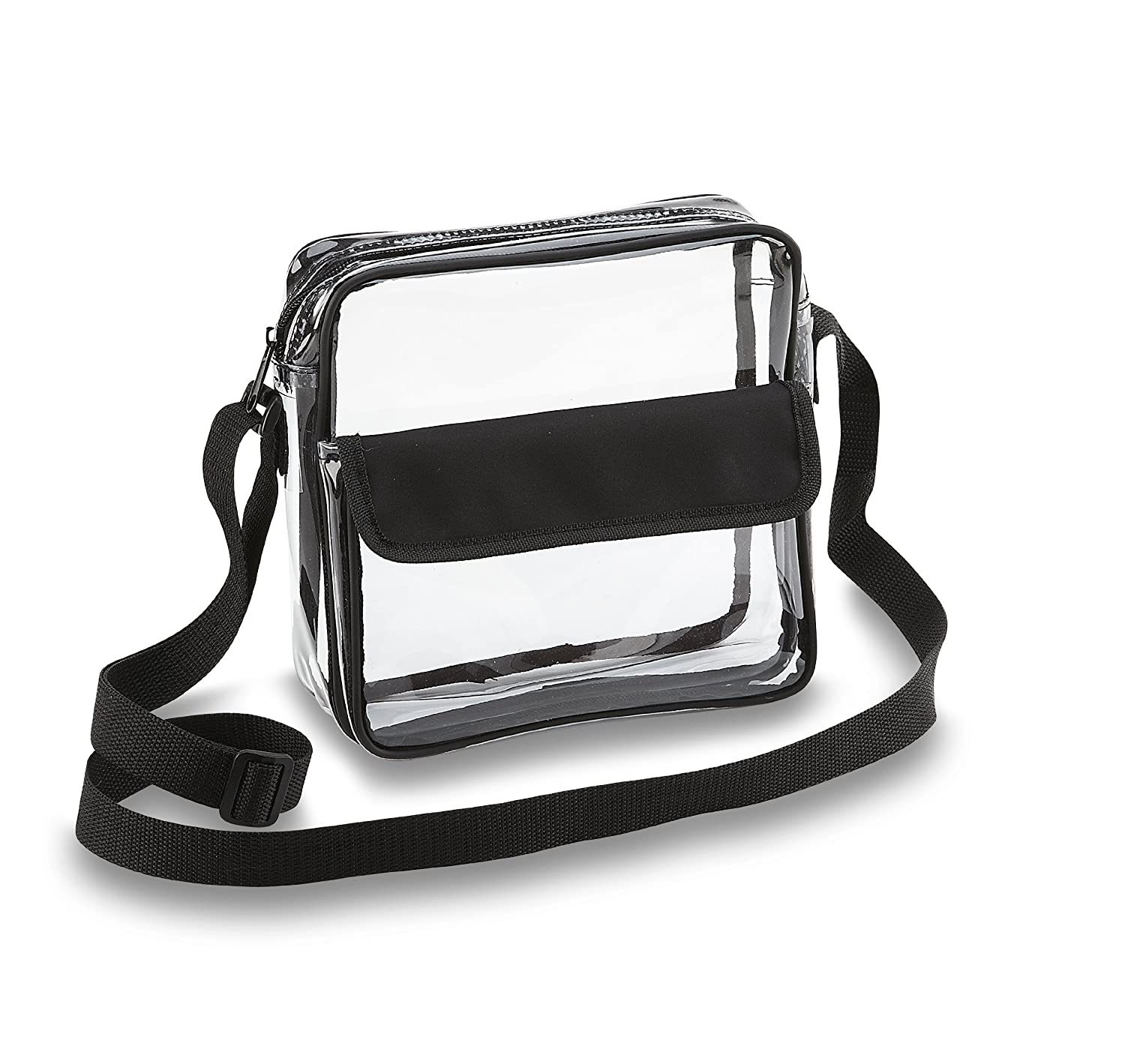 Clear Pvc Shoulder Bag 38