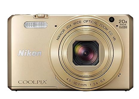 """Nikon Coolpix S7000 Kit Appareil photo numerique compact Q13155 16 Mpix ecran LCD 3"""" Zoom optique 20X Beige"""