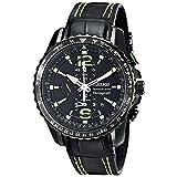 Seiko Men's SNAE97 Sportura-Aviator Watch (Color: Black)