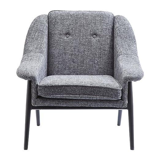 Fauteuil Queens Cosy gris Kare Design