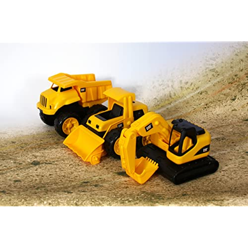 Toy State Caterpillar Tough Tracks 3-Pack