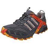 adidas Men's Kanadia TR 2 Running Shoe,Medium Lead/Chrome/Core Orange,9.5 D (Color: Medium Lead/Chrome/Core Orange, Tamaño: 9.5 D(M) US)