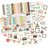 Die Cuts & Paper Set - Be Brave - by Miss Kate Cuttables - 16 Double - Sided 12