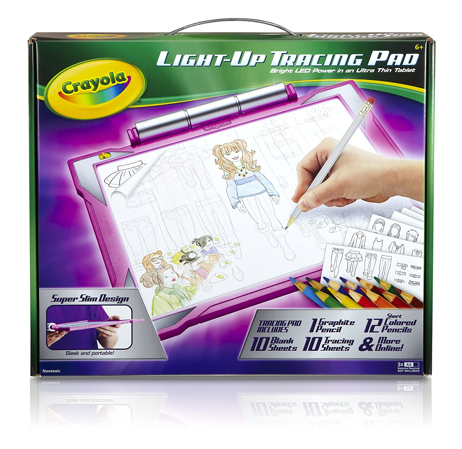 Crayola Light Up Tracing Pad Pink