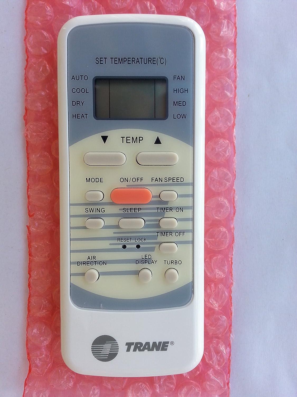 Original Trane Midea Air Conditioner Remote Control Tcontr51m R51/m  #983833