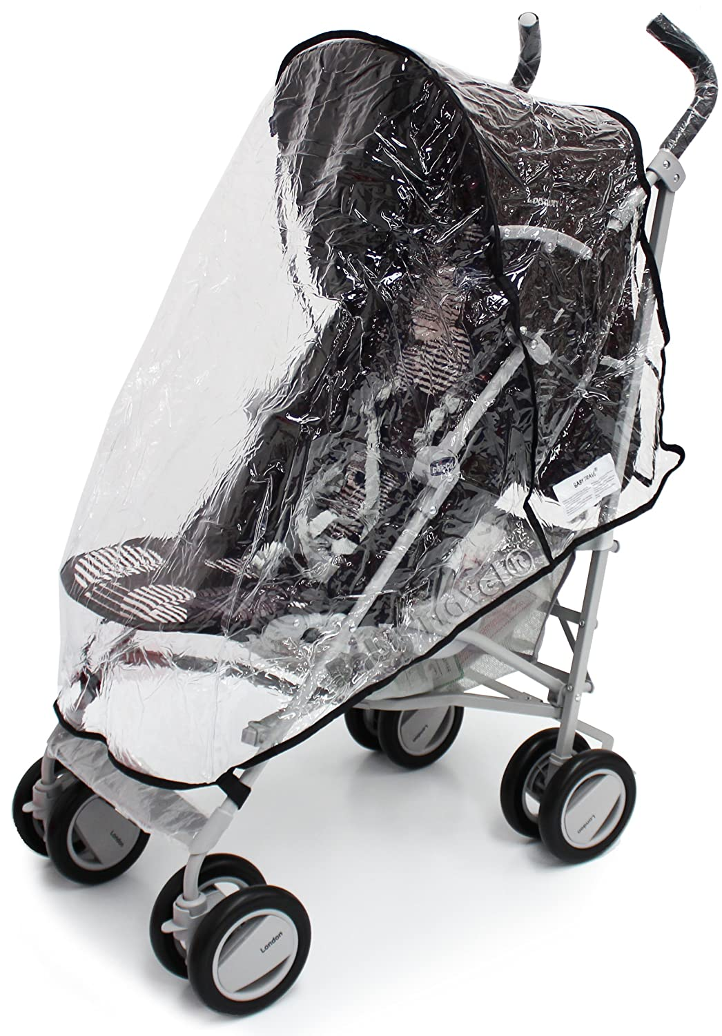 Chicco London Rain Cover Stroller Throw Over Raincover | eBay