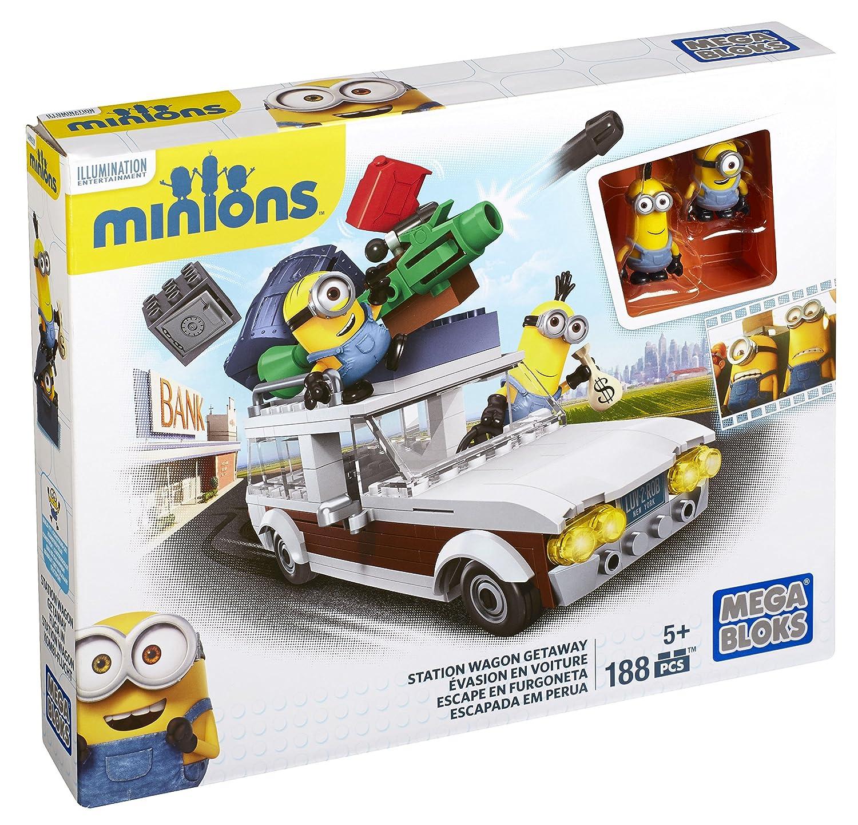 Mattel Mega Bloks CNF56 – Minions Movie Medium Spielset, Bau- und Konstruktionsspielzeug günstig als Geschenk kaufen