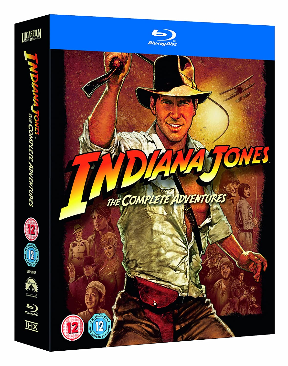 Indiana Jones The Complete Adventures auf Bluray