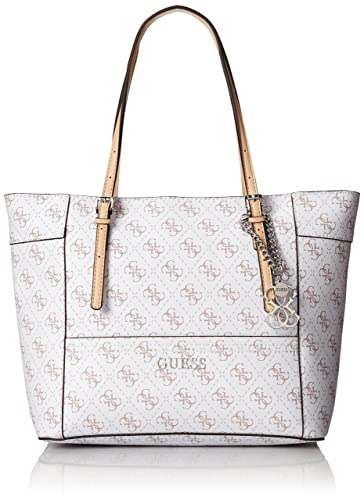 GUESS Women's Delaney Logo Small Classic Tote - tote bags - tote handbags - handbags for women