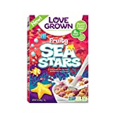 Love Grown Kids Cereal, Fruity Sea Stars, 7 Ounce