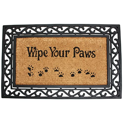 Wipe Your Paws Natural Coir Doormat