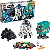 LEGO Star Wars Boost Droid Commander 75253 Learn to Code Educational Tech Toy for Kids, Fun Coding Stem Set with R2-D2 Buildable Robot Toy, New 2019 (1,177 Pieces) (Color: Multicolor)