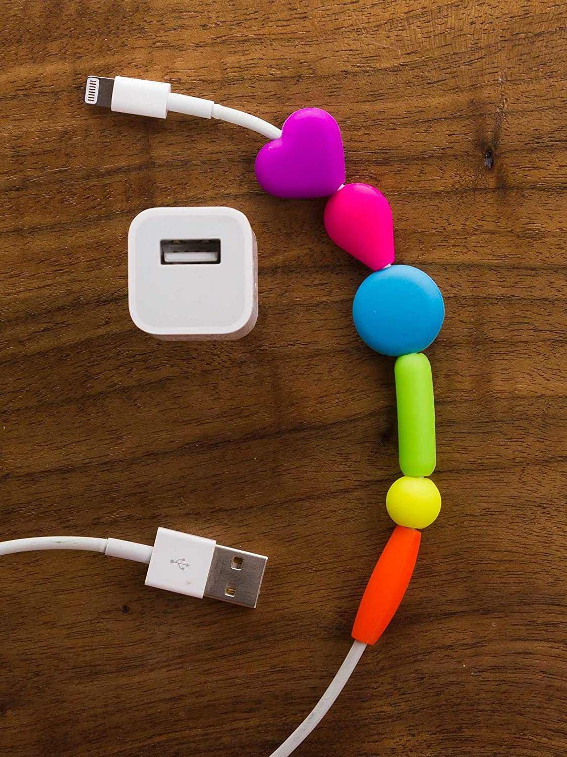 This iPhone cable is just colorful!