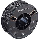 AmazonBasics ABS 3D Printer Filament, 1.75mm, Black, 1 kg Spool (Color: Black, Tamaño: 1.75mm)
