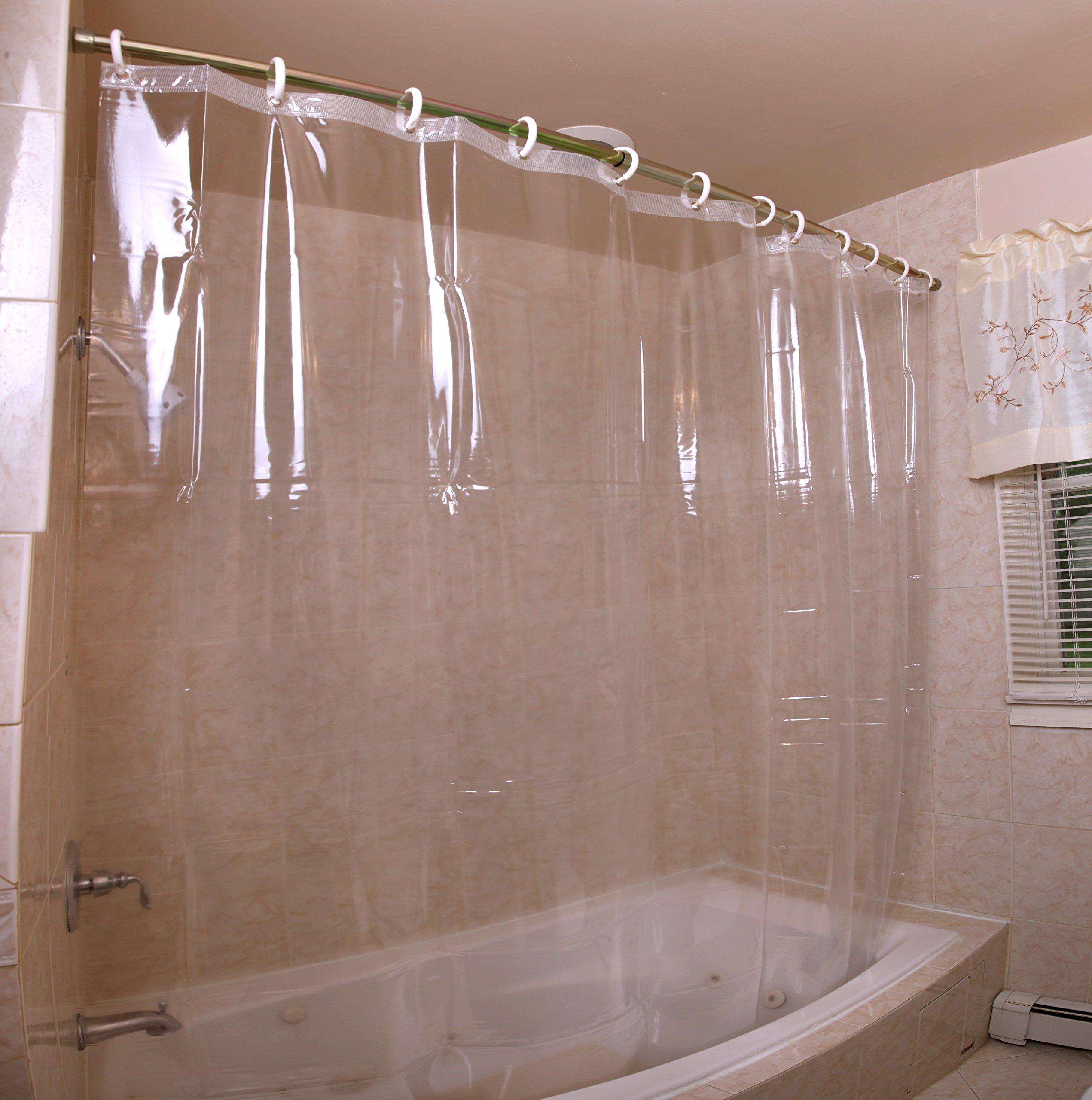 Mildew-Resistant Antibacterial Heavy-Duty Shower Curtain