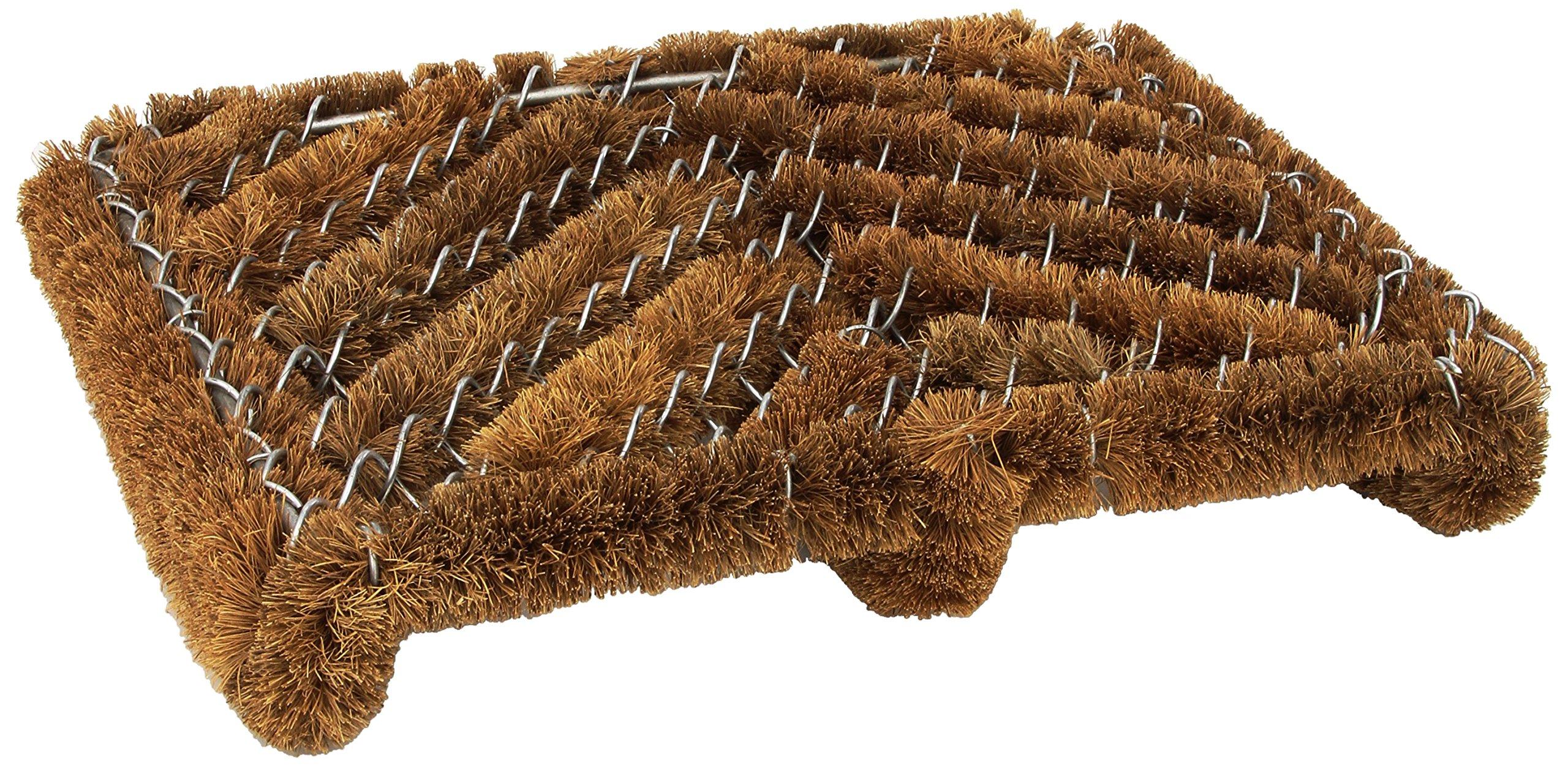 Boot Shoe Scraper Brush Door Mat Cleaner Outdoor Rug Mud