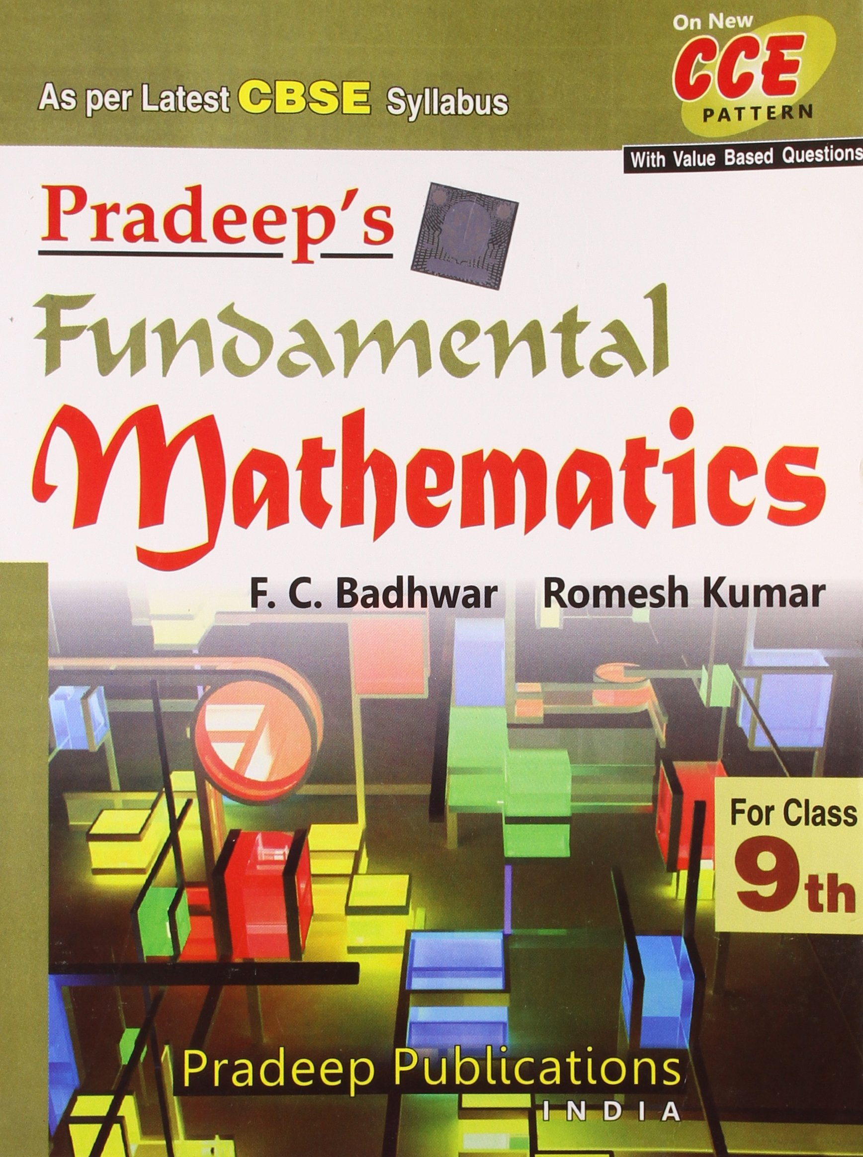 Pradeep s fundamental mathematics class ix as per latest cbse syllabus