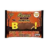 REESE'S Peanut Butter Halloween Pumpkin, Milk Chocolate Covered Peanut Butter Pumpkin Shaped Candy in Halloween Packaging, 19.2 Ounce Bag (Tamaño: Pack of 1)