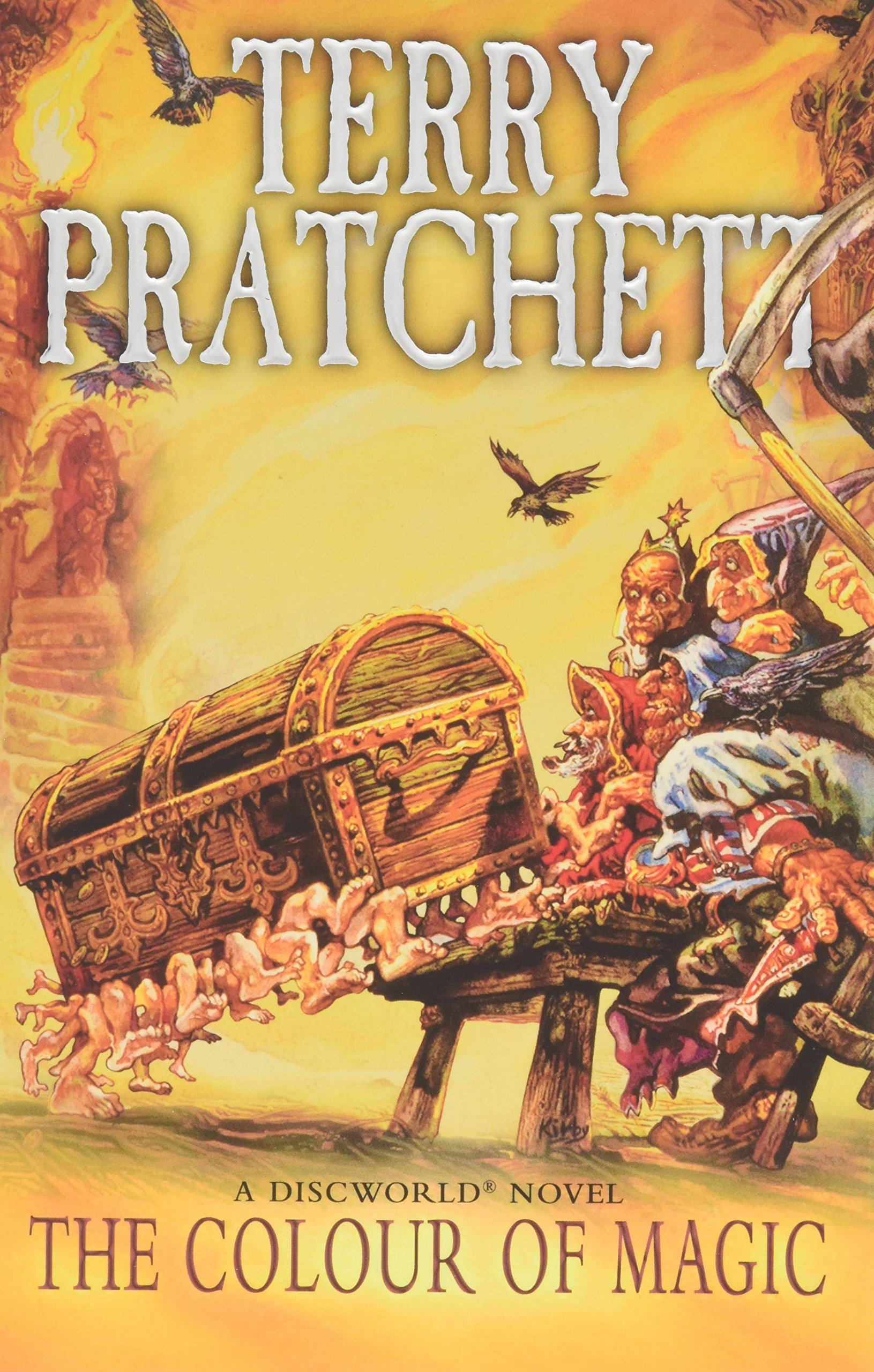 Buy The Colour Of Magic: (discworld Novel 1) (discworld Novels) Book Online  At Low Prices In India  The Colour Of Magic: (discworld Novel 1)  (discworld