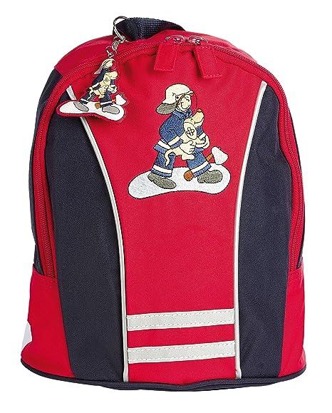sigikid 23333 enfant garçon, sac à dos rouge/bleu, 'Frido Firefighter'