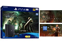 PlayStation 4 Pro FINAL FANTASY VII REMAKE Pack(HDD:1TB)【Amazon.co.jp特典】オリジナルPS4用ダイナミックテーマ 配信