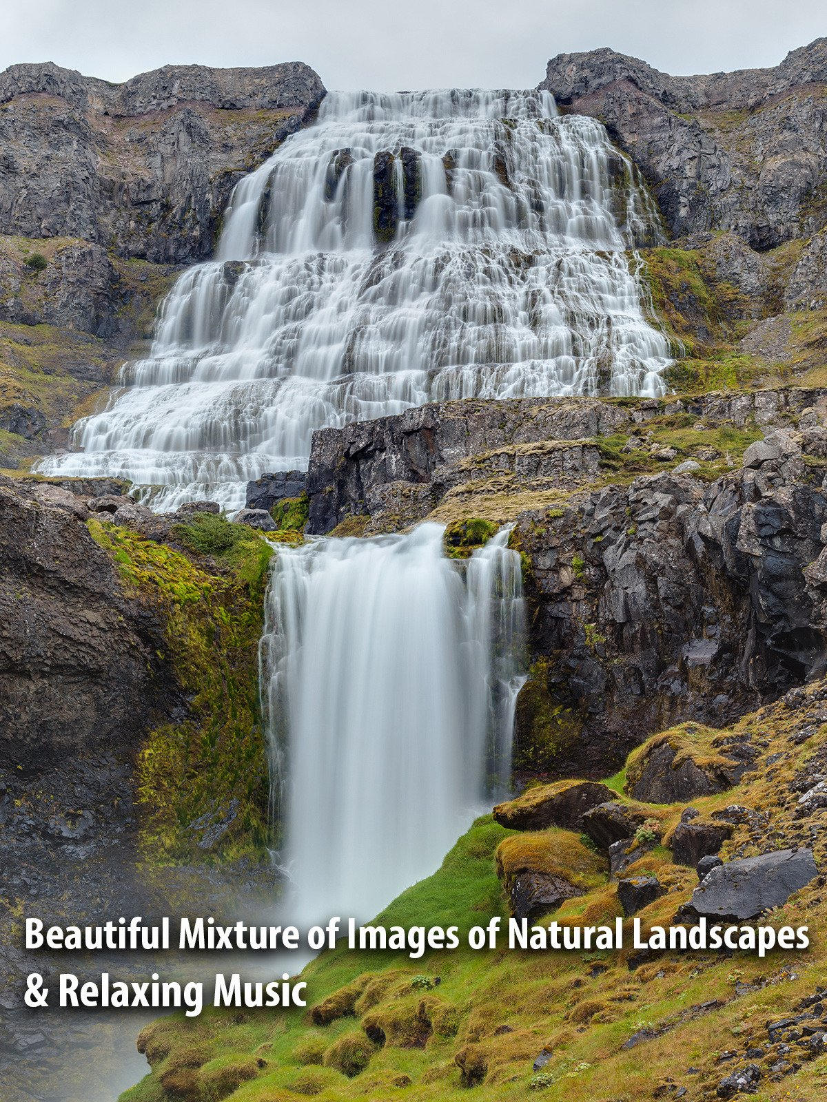 Beautiful Mixture of Images of Natural Landscapes & Relaxing Music