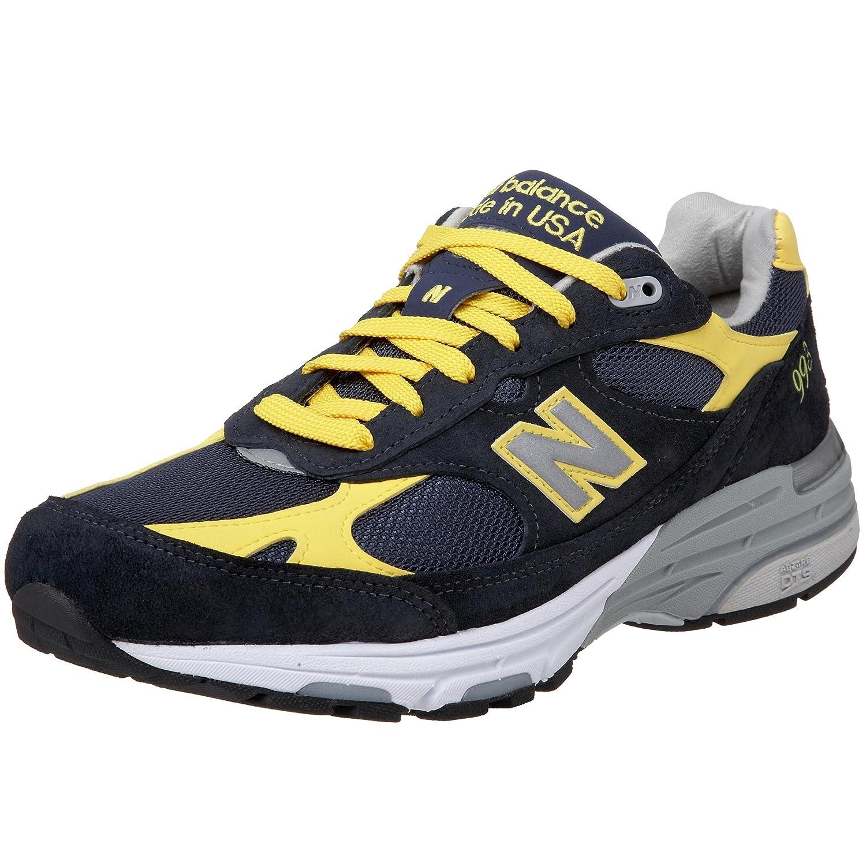 New Balance 993 Navy Blue Yellow