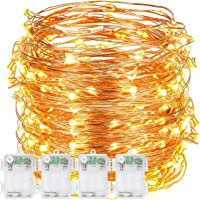 4-Set DecorNova 9.8-Foot 60 LED String Light Sets (Warm White)