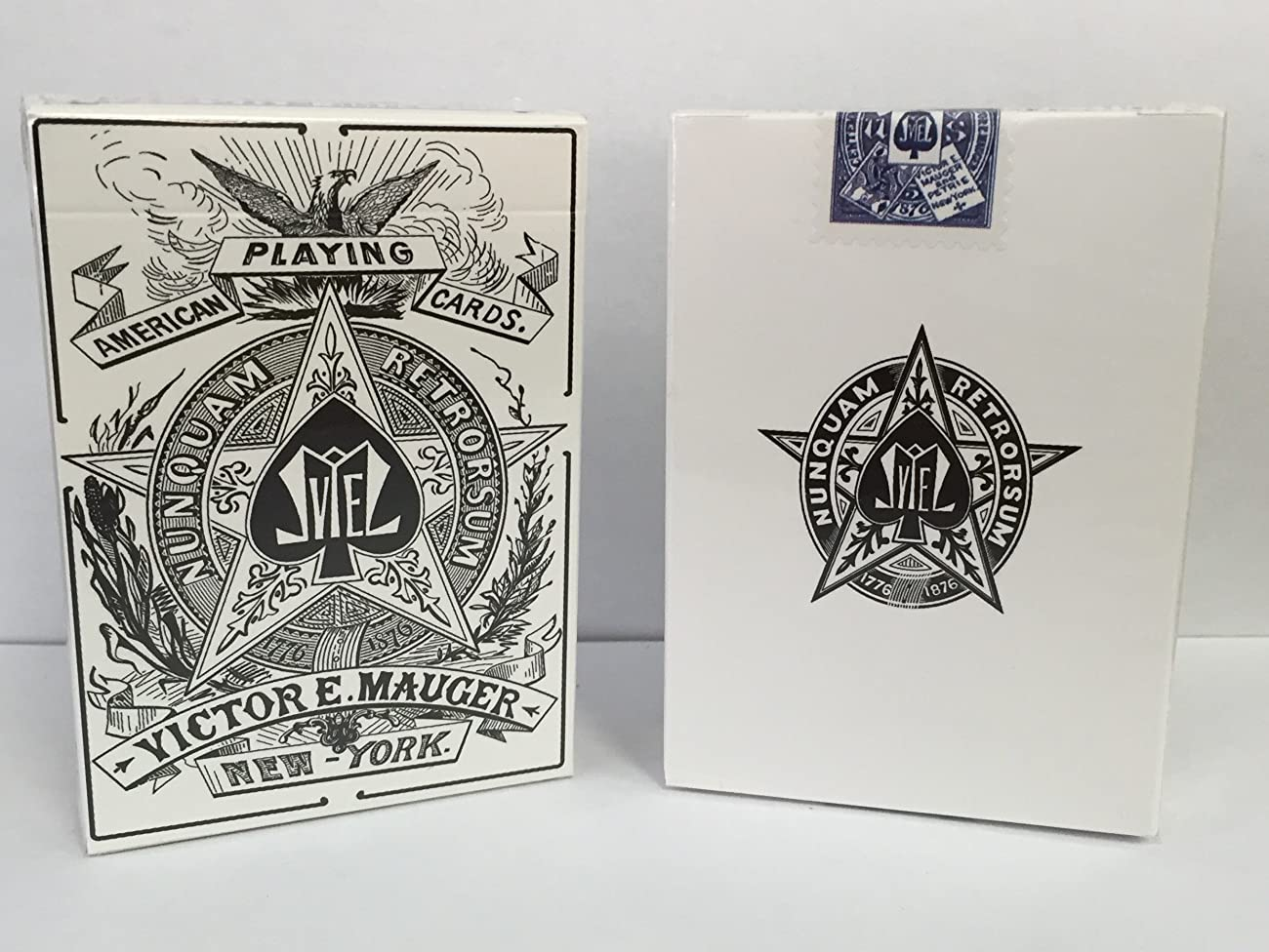 Mauger 1876 Centennial Exposition Playing Cards Restoration 3
