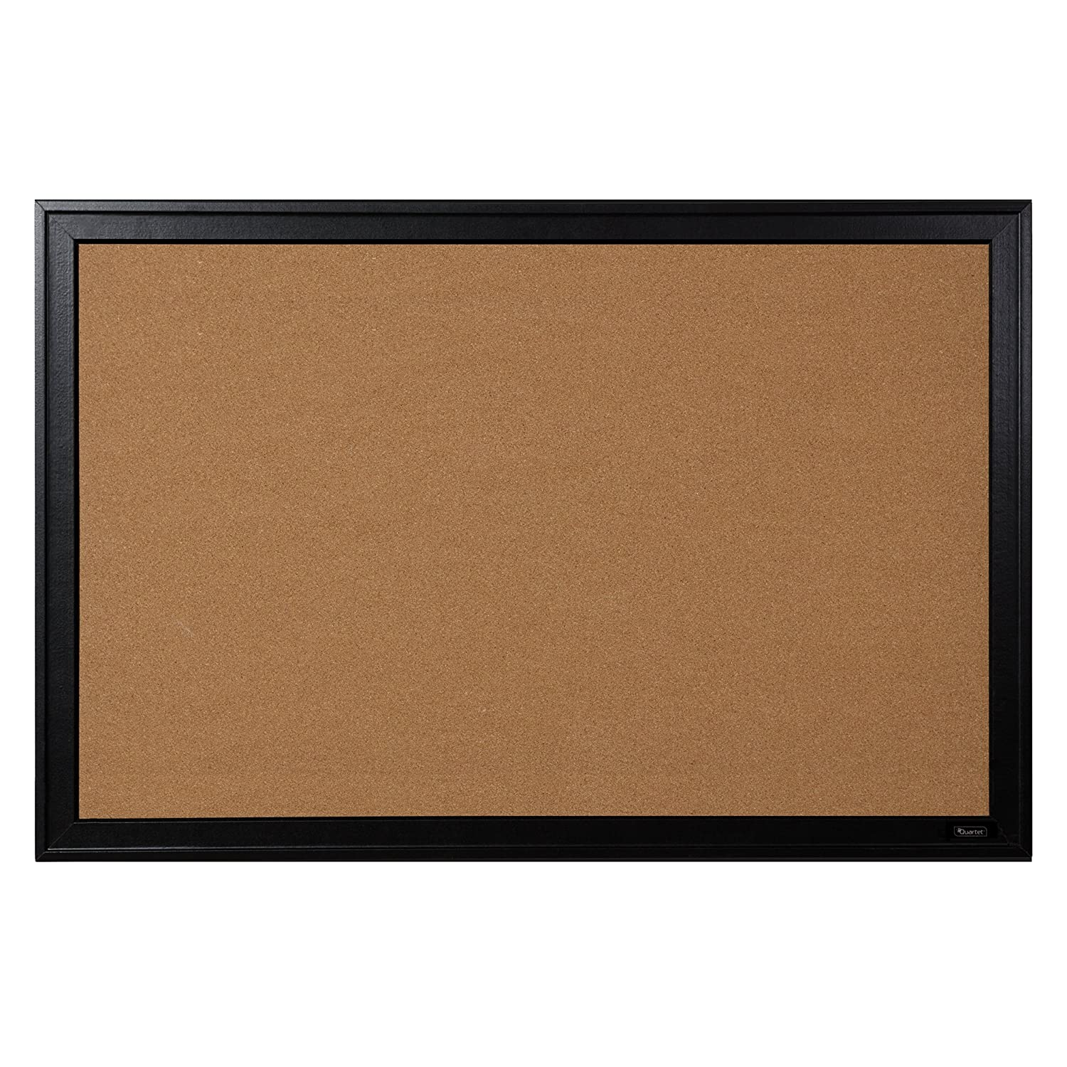 "Quartet Bulletin Board, Cork, 24""x36"", Black Frame (13769)"
