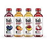 Bai Rainforest Variety Pack, Antioxidant Infused Drinks, 18 Fluid Ounce Bottles, 12 count, (3 bottles each of Brasilia Blueberry, Costa Rica Clementine, Malawi Mango, Sumatra Dragonfruit)