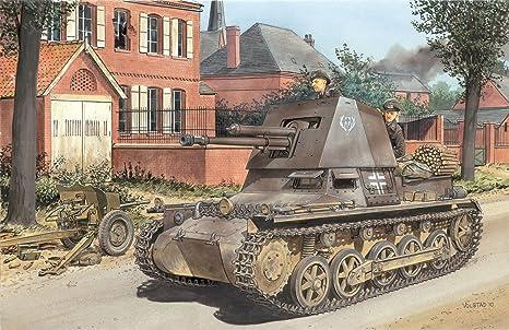 Dragon - D6258 - Maquette - Panzerjager I - Echelle 1:35